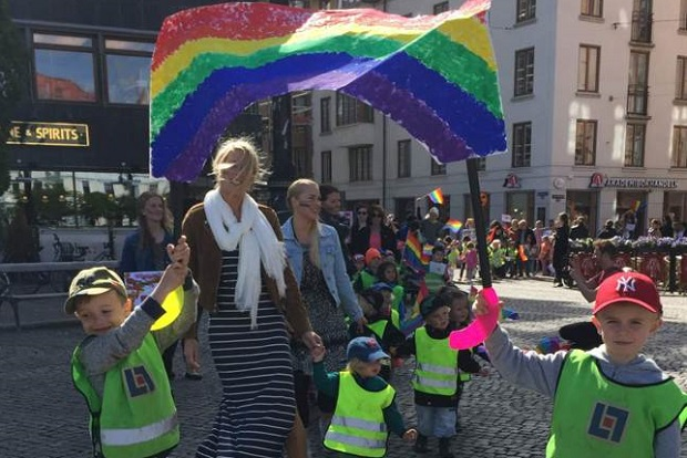 парад в Гетеборге
