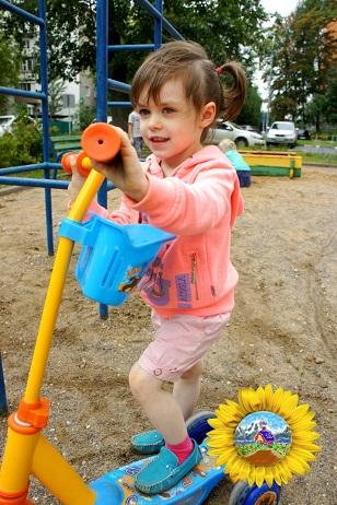 прогулка в детском саду