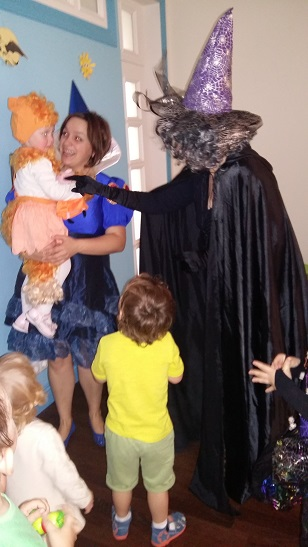 хэллоуин в детском саду