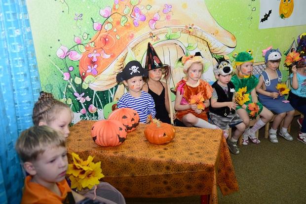 хеллоуин в детском саду