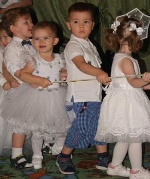 новый год в детском саду