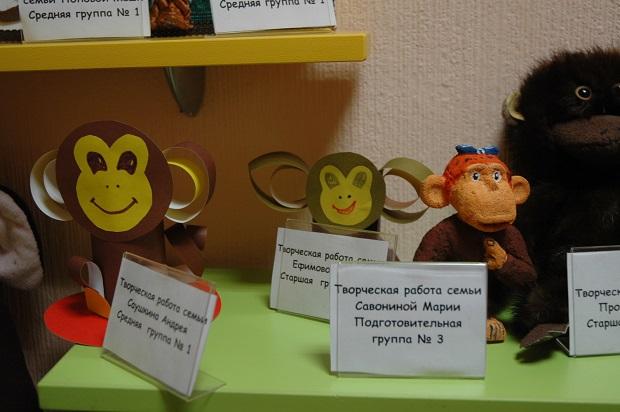 поделки на год обезьянки