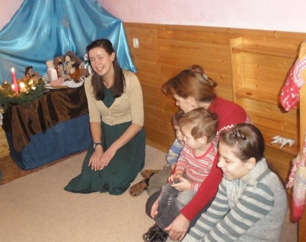 Рождество в детском саду