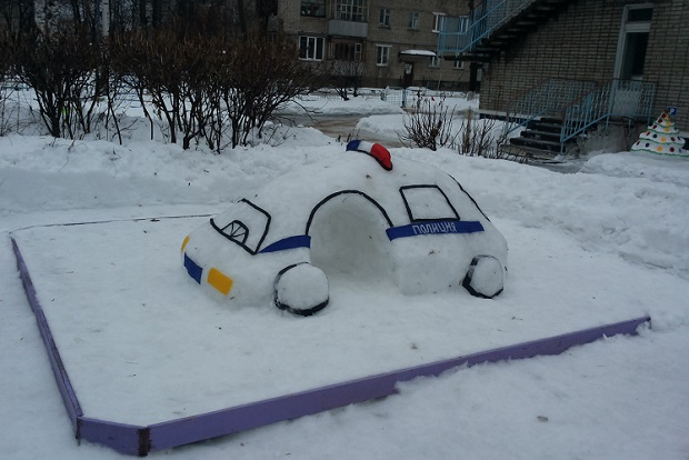 cнежная фигура