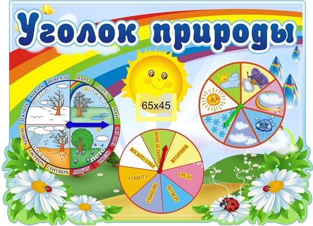 картинки к календарю природы в детском саду