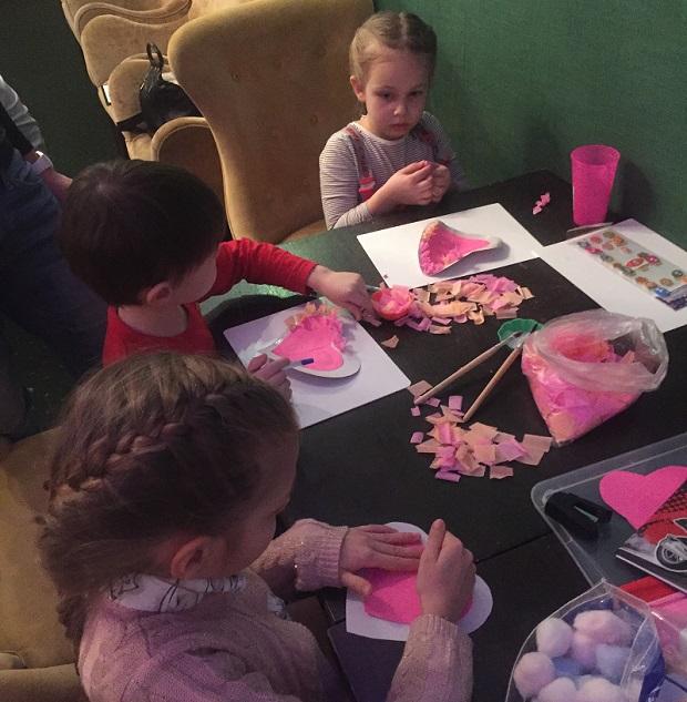 День святого Валентина в детском саду