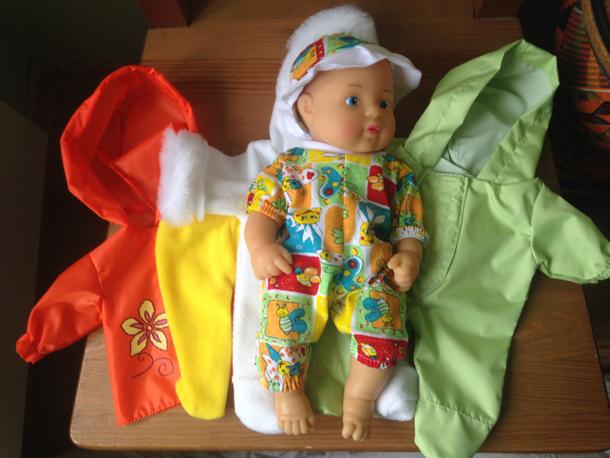 кукла дидактическая - 4 сезона