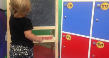 шкафчик в детском саду