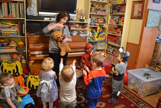 детский сад - мы карапузики