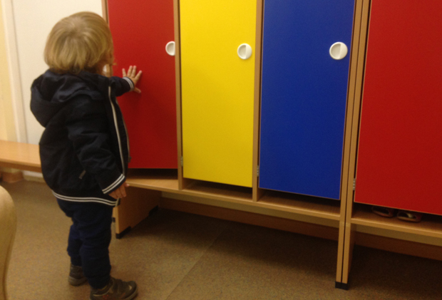 детский сад шкафчик