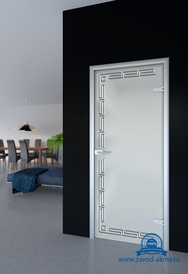Стеклянные двери Акма