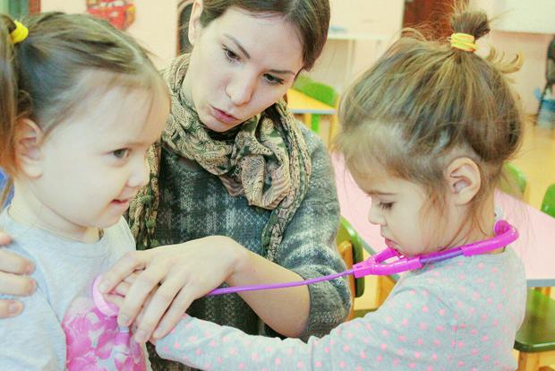 детский сад Маленькая страна в Новом Бисерово