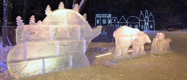 ледяные скульптуры измайлово