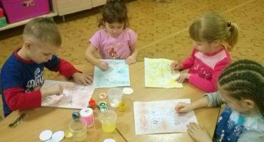 Нетрадиционная техника в рисовании в детском саду