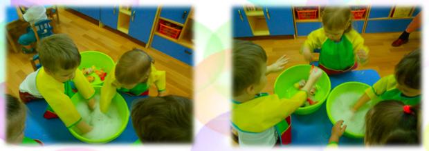 дети в детском саду на занятиях