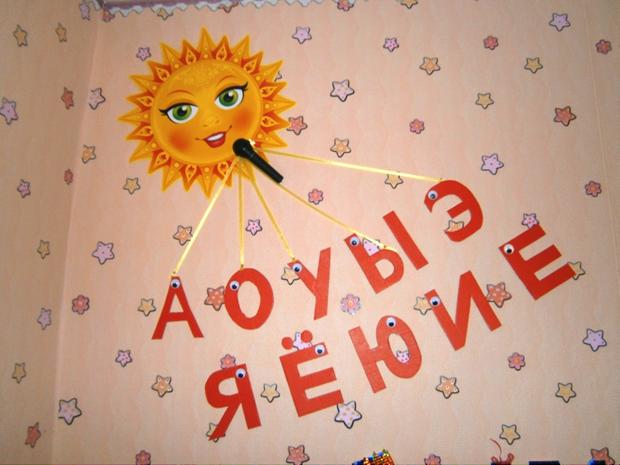 оформление логопедического кабинета в детском саду