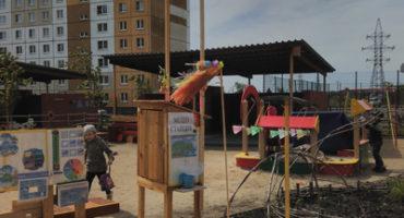 Метеостанция в детском саду (фото)